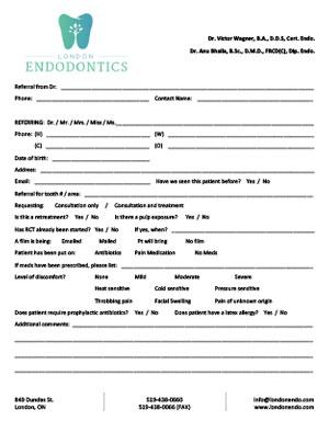 Patient Referral Form